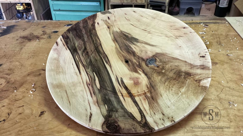 Turning a Platter
