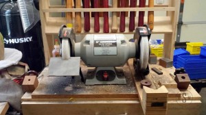 Bench Grinder Upgrade