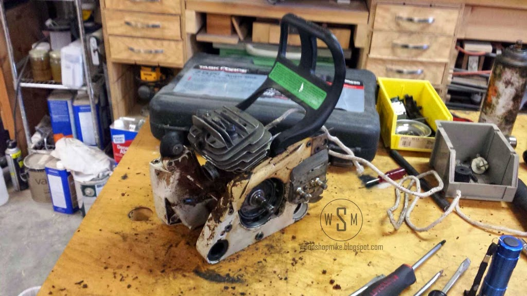 A Dying Chainsaw's Last Words: Top End Rebuild