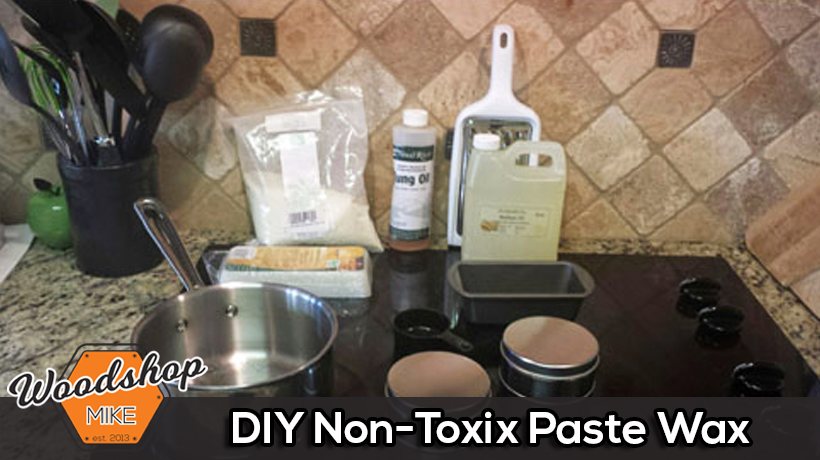 DIY Non-Toxic Paste Wax