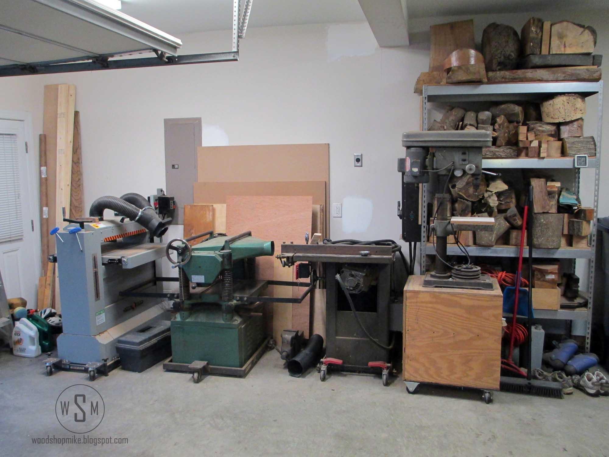 The Wood Shop Woodshop Mike
