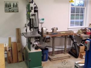 Rikon, bandsaw, lathe, craftsman