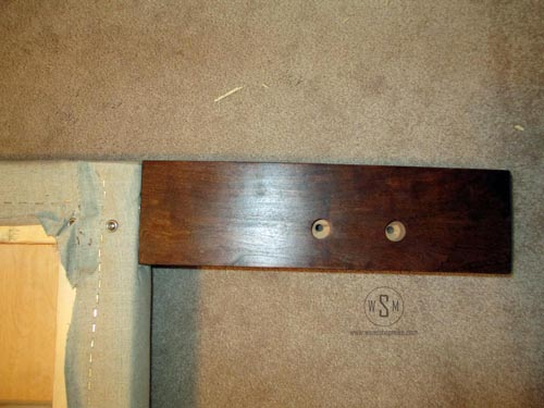 Holes For Bed Frame Hardware