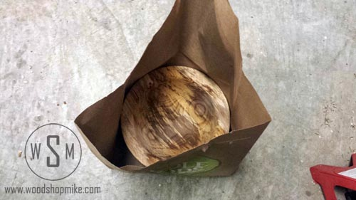 Bowl in a Paper Bag