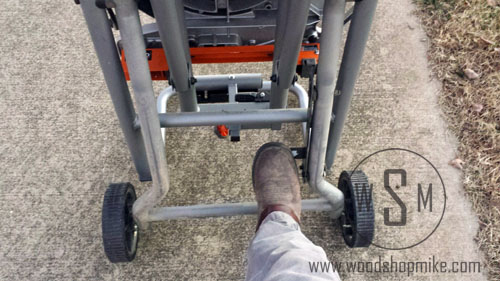 Stand Release, Ridgid Miter Saw Stand