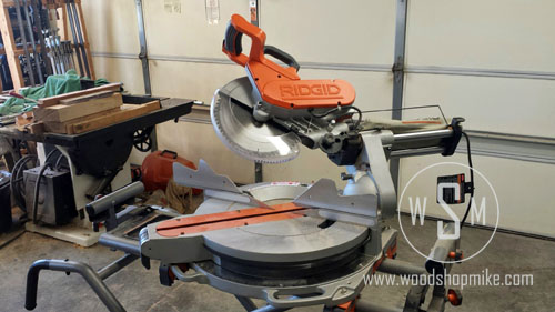 Compound Miter, Ridgid MS1290LZA