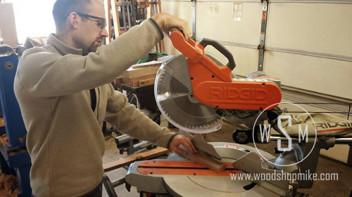 Cutting Sequence 1, Ridgid MS1290LZA
