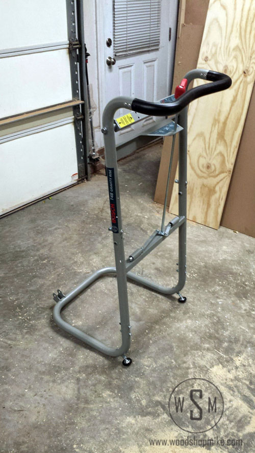 BOSCH Gravity Rise Miter Saw Stand, Assembly