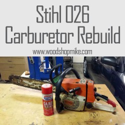 A Dying Chainsaw's Last Words, Rebuilding a Carburetor