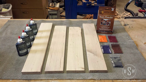 KEYDA Wood Dye & Transtint, Prep