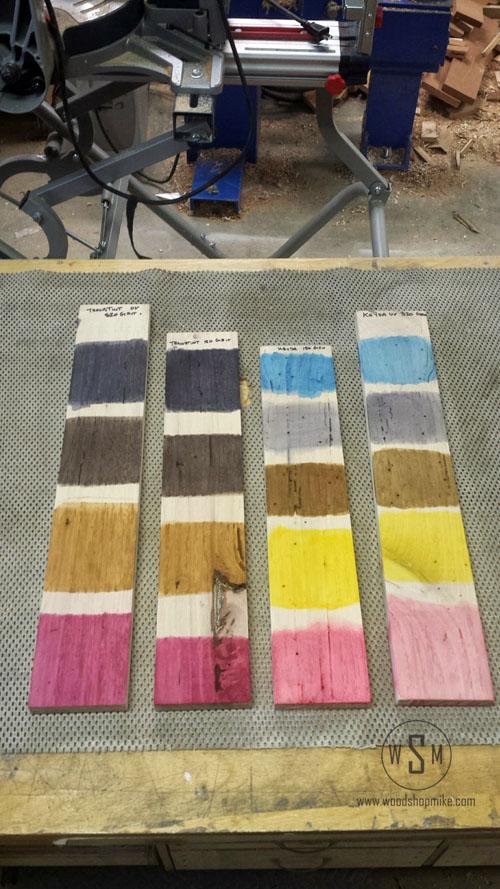 KEYDA Wood Dye & Transtint