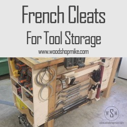 French Cleats For Storage