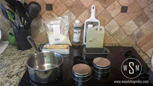 Paste Wax, Materials