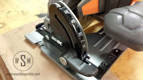 Circular Saw Angle Adj, RIDGID GEN5X Combo Kit
