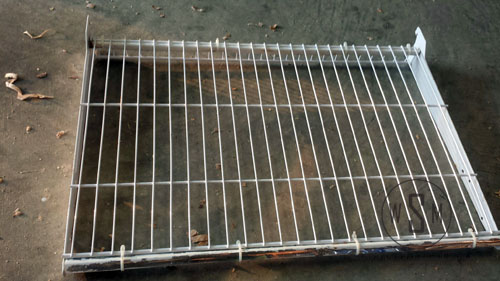 Wire Mesh Shelf, DIY Kiln