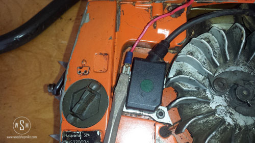 Ignition Coil, Old, Cable Removal