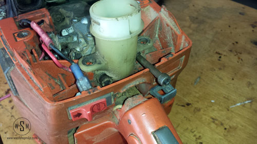 Intake Side, Carb & Air Filter Holder Loose 2