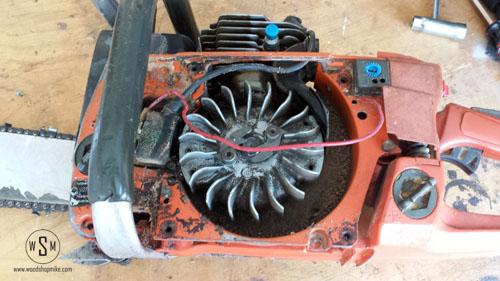 Internal Air Baffel Removed