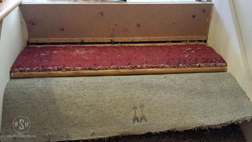 Carpet Pad On Stairs Removing Carpet