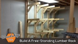 Build A Free-Standing Lumber Rack