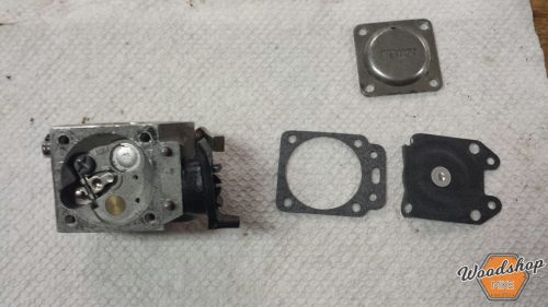 Reassembly 1-carburetor rebuild