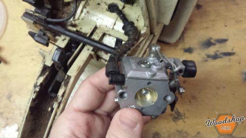 Reinstall Carb 1-carburetor rebuild