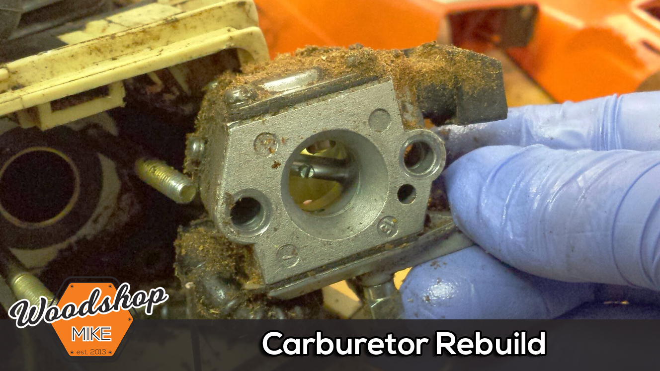 Carburetor Rebuild, A Dying Chainsaw's Last Words