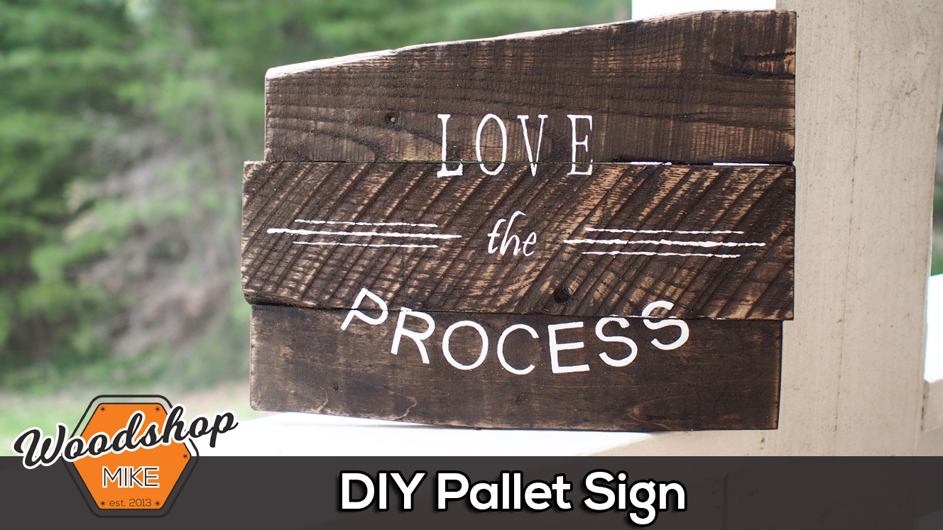 Splash Image - Pallet Sign