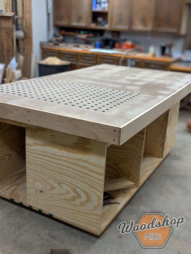 Table Saw Outfeed Table Plans Woodshop Mike