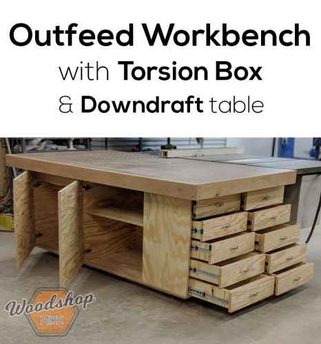 Outfeed Workbench Pin