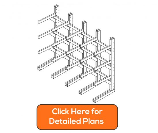 how to build a modular lumber rack diy plans