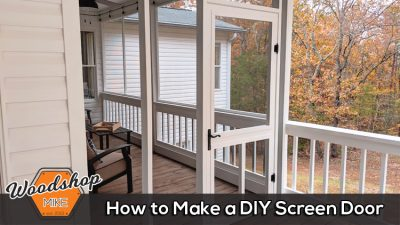 How to Make a DIY Screen Door
