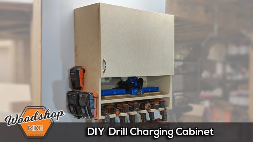 How to Make a DIY Drill Charging Cabinet