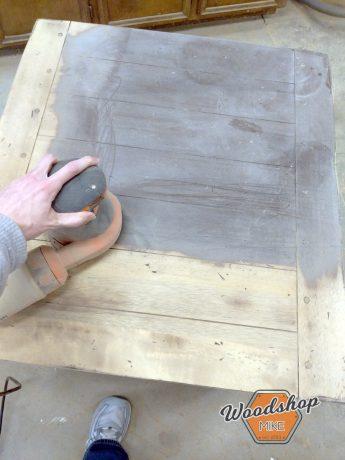 Sanding Through Finish - Thrift Store Furniture Restoration