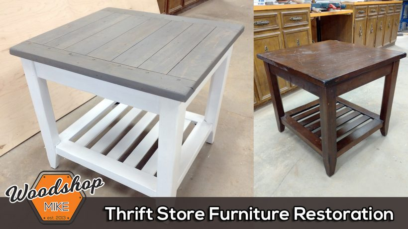 Featured Image - Thrift Store Furniture Restoration