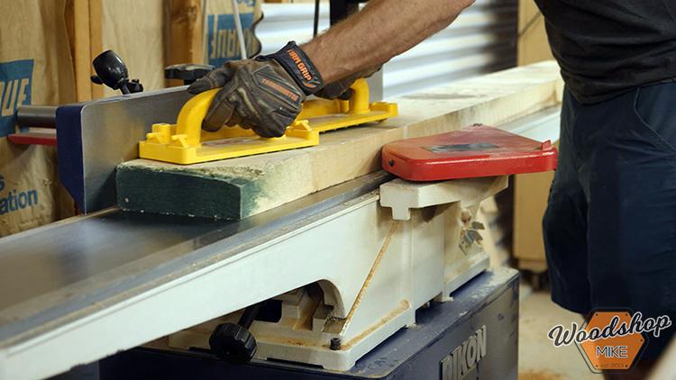 Face Jointing Lumber DIY Farmhouse Platform Bed